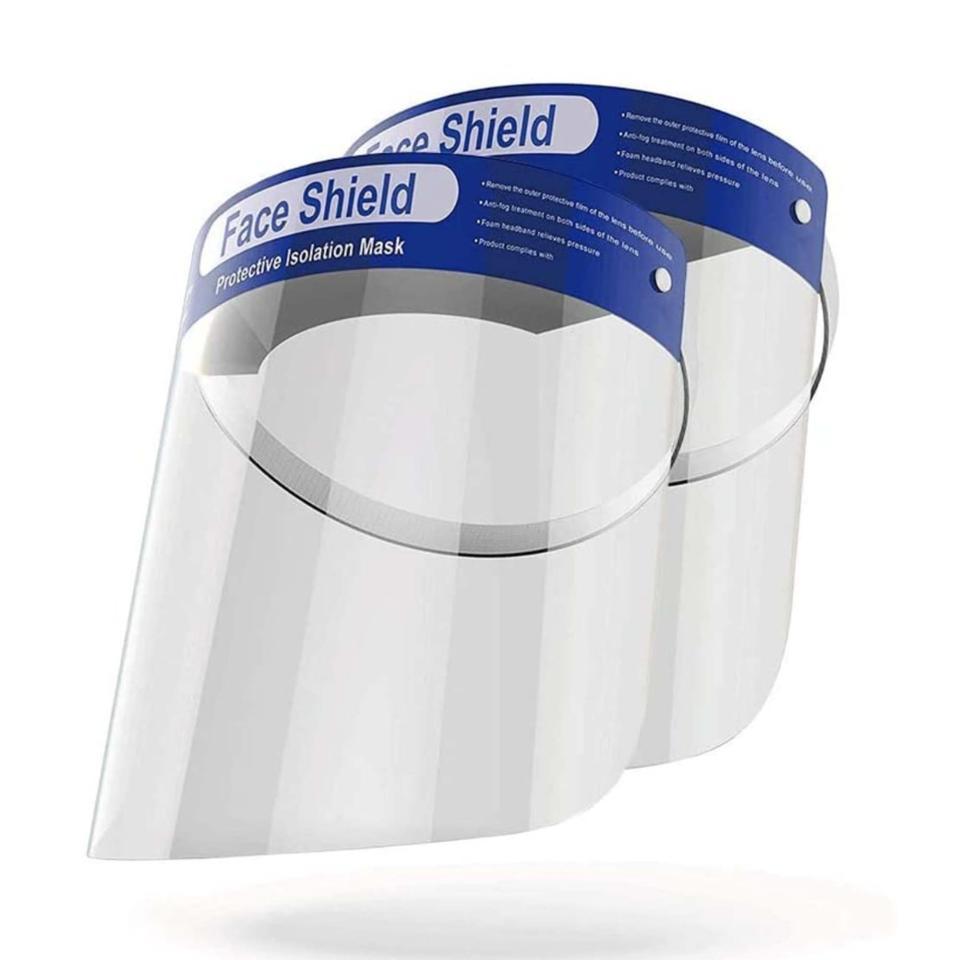 Position Promo Face Shields Disposable 1 Use Carton 400