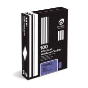 Olympic Manilla Folder Foolscap Purple Box 100