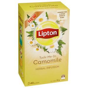 Lipton Herbal Chamomile Tea Bags Pack 40