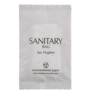 Concept Amenities Eco Fresh Sanitary Bag In White Paper Erp Sachet Ctn250