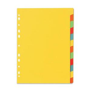 Marbig erasable 12 tab dividers coloured staples now winc for 12 tab divider template