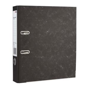 Winc Lever Arch File A4 Board Mottle Grey/Black