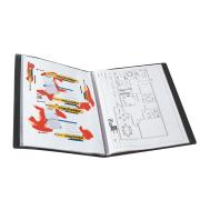 Marbig A3 Display Book 20 Pages Black