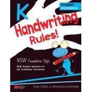 Macmillian Handwriting Rules Year K NSW