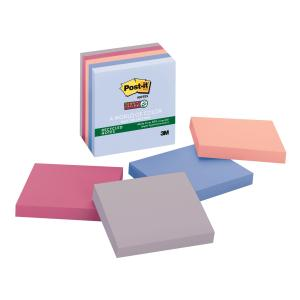 Post-It Super Sticky Notes Bali Collection 76 x 76mm Pack 5