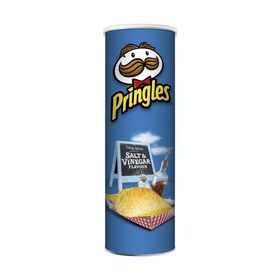 Pringles Chips Salt & Vinegar 134g