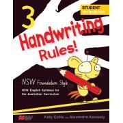 Macmillian Handwriting Rules Year 3 NSW