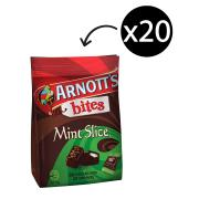 Arnotts Bites Mint Slice 170g Pack 20