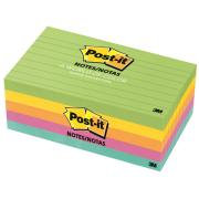 Post-It Notes Jaipur Collection Lined 76 X 127mm Pack 5