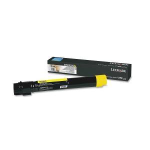 Lexmark X950X2YG Yellow Toner Cartridge