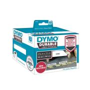 Dymo LW Durable Labels 59mm x 190mm White Poly 170 Labels