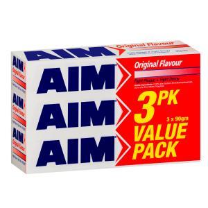 Aim Original Regular 3x270g Value Pack