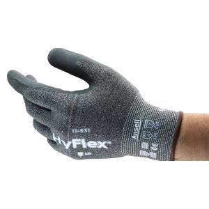 Hyflex 11-531 Intercept Palm Dip Gloves Cut 3 Pair