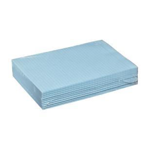 Winc Ruled Writing Pad A4 Bond 70gsm Blue 50 Sheets Pack 10