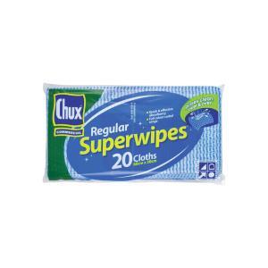CHUX Original Superwipes 60 x 30 cm Blue Pack 20