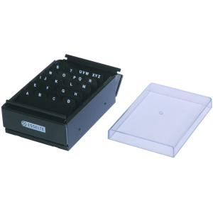 Esselte Metal Business Card Case 400 Cards Capacity Black Staples