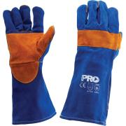 Pro Choice Kbw16E Pyromate Blue Heeler- Blue & Gold Welding Gloves One Size Pair