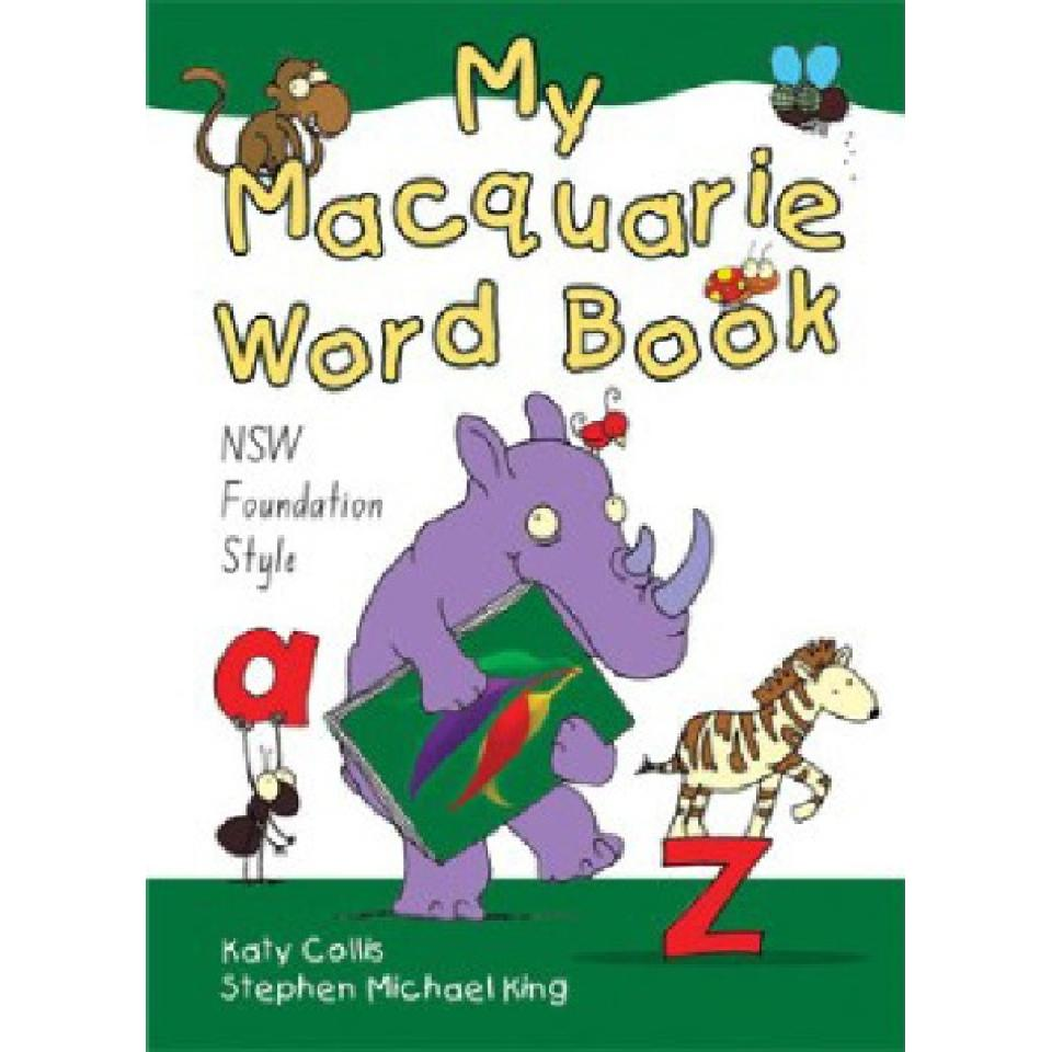 My Macquarie Word Book For NSW