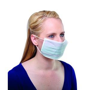 Safechoice Disposable Double Ear Loop 3 Ply Medical Mask Green Carton 1000