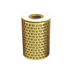 Colorific Honeycomb Mesh 10 Metres Circles Gold