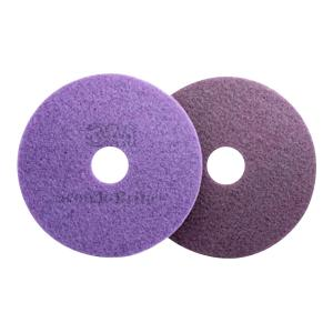 3m Fn520004907 Scotchbrite Purple Diamond Floor Pad 53cm Each