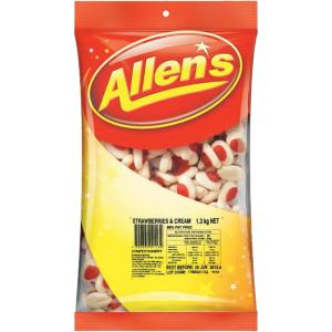 Allens Strawberries and Cream 1.3kg