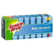3M Scotch Brite Non Scratch Foam Scrub Sponge Pack Of 8