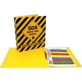 Safety Data Sheet 2 Ring A4 Binder Yellow