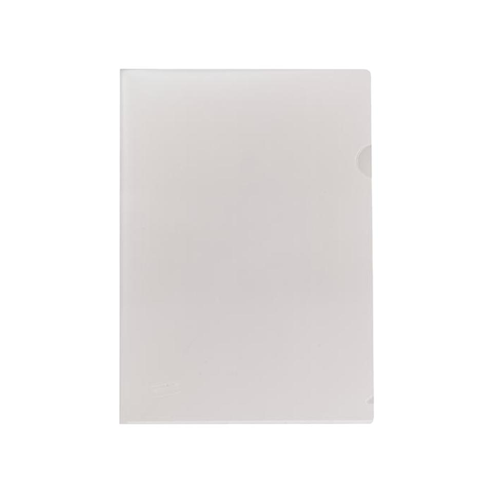 Staples Letter File Foolscap Open 2 Sides Clear