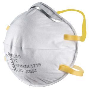 3M 8210 P2 Particulate Respirators Box20