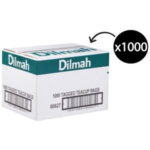 Dilmah Black Tagged Tea Bags Carton 1000