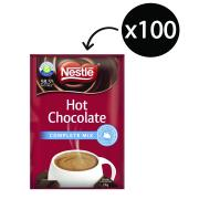 Nestle Complete Mix Hot Chocolate 25g Sachets Carton 100
