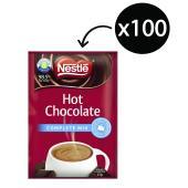 Nestle Complete Mix Hot Chocolate 25g Sachets Carton 100
