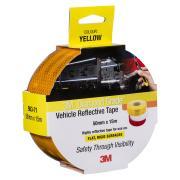 3M Reflective Tape 983-71es Yellow 50mm X 15m