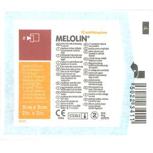 Melolin Non Adhesive Dressing 5x5cm