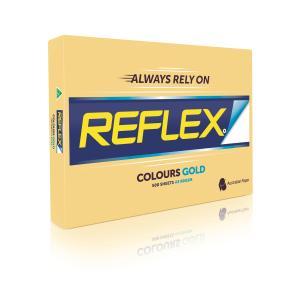 Reflex Colours Copy Paper A3 Gold 500 Sheet