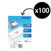 Unistat 38938 Labels COPIER/LASER DL02 Box 100
