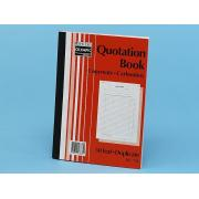 Olympic No.750 Duplicate Carbonless Quotation Book A4