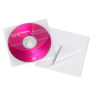 Cumberland CD Sleeve Clear Pack 5