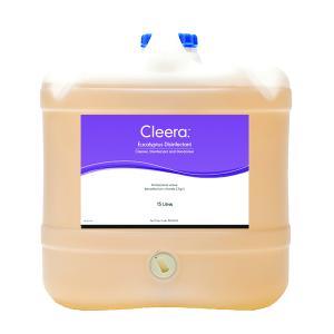 Cleera Disinfectant Cleaner & Deodoriser Eucalyptus 15L