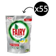 Fairy Autodish Tab Platinum Lemon Pack 55