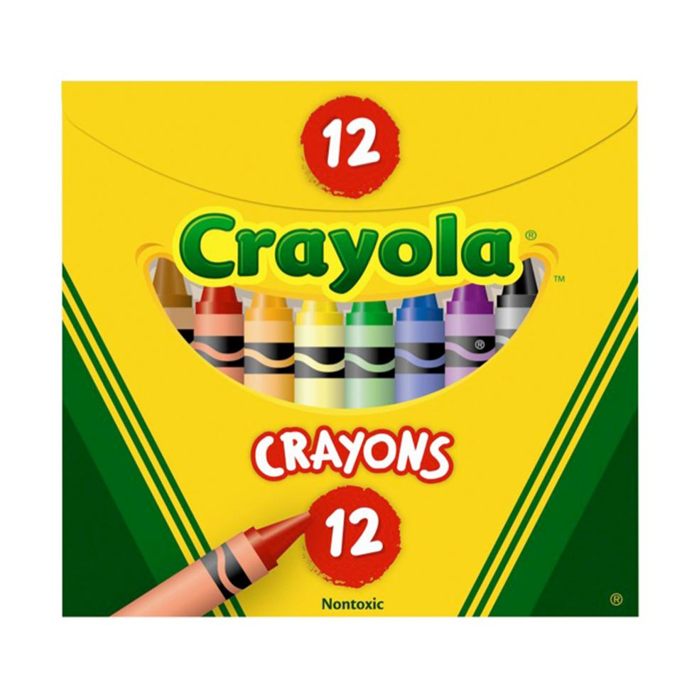 Crayola Crayons Regular Size Pack 12