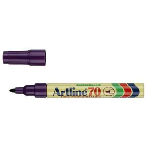 Artline 70 Permanent Marker Bullet 1.5mm Purple
