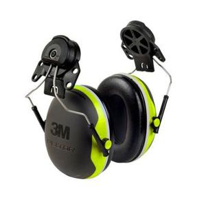 3M Peltor X4P3E Premium X Series Cap Attached Earmuffs