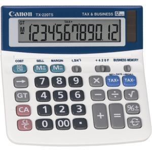 canon tx220ts desktop tax calculator 12 digit dual winc