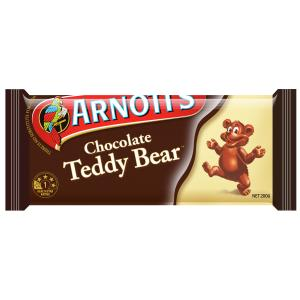 Arnotts Chocolate Teddy Bear 200g
