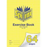 Spirax 106 A4 Exercise Book 64 Pages 8mm Ruled