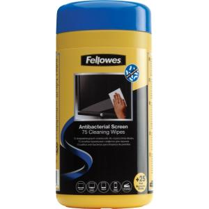 Fellowes Screen Cleaning Wipes - 100-Pack