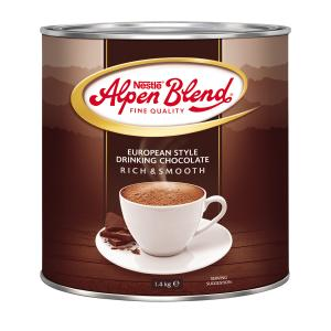 Nestle Alpen Blend Hot Chocolate 1.4kg Tin