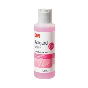 Avagard Antiseptic Solution Hand Rub 125ml Squeeze Bottle